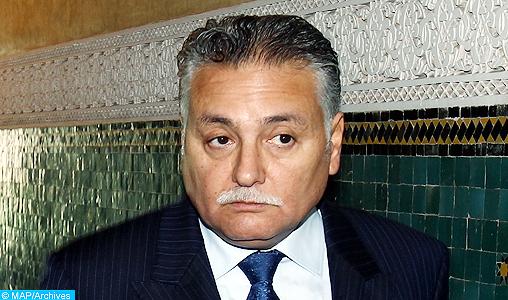 M. Benabdellah s'entretient avec son homologue tunisien en marge de la 18ème session de la grande Commission mixte maroco-tunisienne