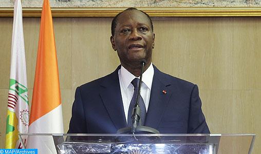 """La visite de SM le Roi en Côte d'Ivoire, """"une marque de confiance et d'amitié"""" (Président Ouattara)"""