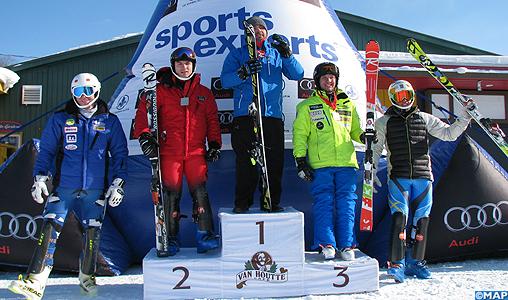 Ski Alpin : les frères Lamhamedi en or et en argent sur le circuit de la FIS