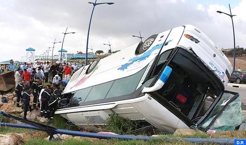 Un mort et 22 blessés dans un accident sur la route côtière entre Bouznika et Mohammedia