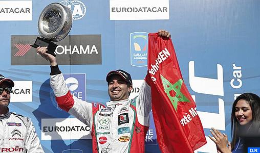Aéroport de Rabat-Salé: Accueil chaleureux de Mehdi Bennani, vainqueur du trophée des indépendants au GP de Chine