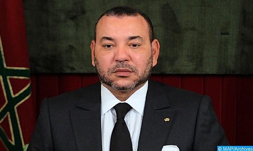 Message de condoléances de SM le Roi au Président de la République démocratique du Congo suite au décès de plusieurs victimes dans un accident de train