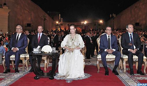 SAR la Princesse Lalla Salma préside l'ouverture du 21-ème Festival de Fès des musiques sacrées du monde