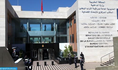 """Démantèlement d'un réseau terroriste actif dans le recrutement de combattants marocains pour le compte de l'""""Etat islamique"""" en Syrie et en Irak (ministère de l'Intérieur)"""
