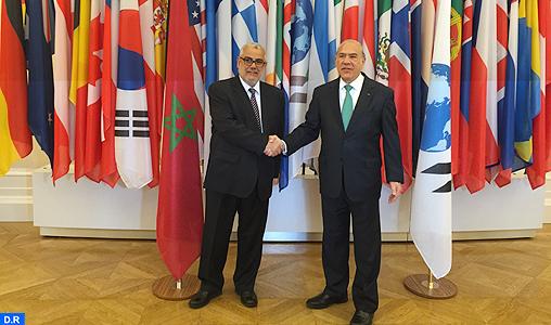 Signature à Paris d'un protocole d'accord pour la mise en œuvre du programme-pays Maroc-OCDE