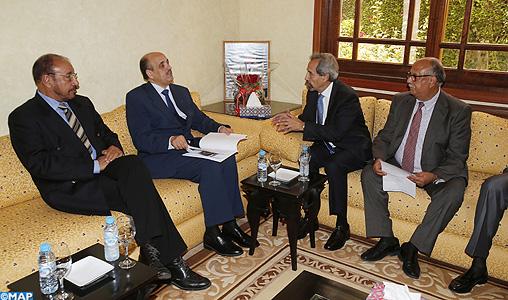 Le président du CORCAS reçoit une délégation du Club des amis du Maroc en Espagne