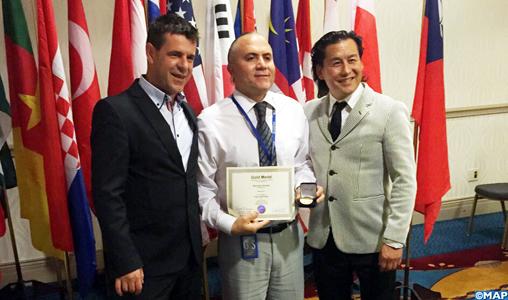 Usa le marocain adam abdallah rouhessalam remporte le grand prix du salon international des - Salon des inventions paris ...