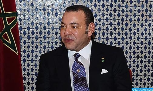 SM le Roi félicite le Président égyptien à l'occasion de la fête nationale de son pays