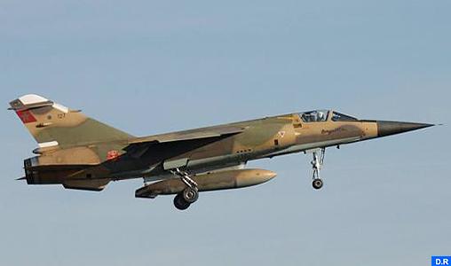 Un Mirage F1 des FRAs'écrase dans la région de Taounate, le pilote sain et sauf