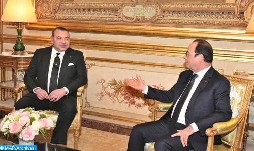 Le président français en visite d'amitié et de travail officielle au Maroc les 19 et 20 septembre (communiqué)