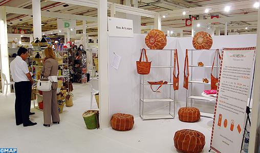 L 39 industrie marocaine du textile et du cuir mise en avant au salon who 39 s next accessories de - Salon de l industrie paris ...