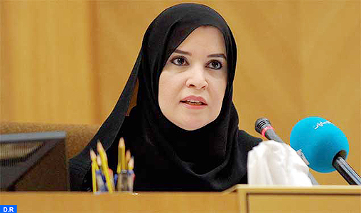 """Première femme présidente du Parlement émirati, """"une avancée pour le monde arabe"""" (UIP)"""