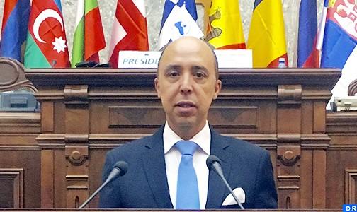 Nécessité de renforcer la coopération entre les assemblées parlementaires de la Mer noire et de la Méditerranée (Vice-Président de la chambre des Représentants)