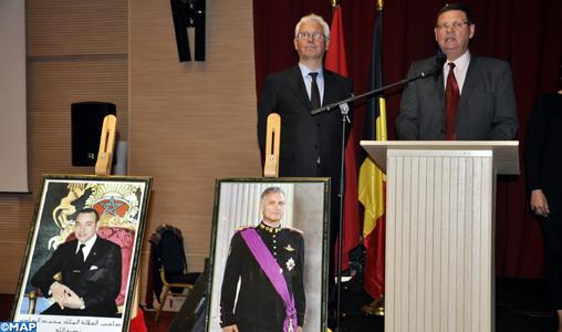 Frank Carruet souligne à Tanger l'excellence des relations maroco-belges