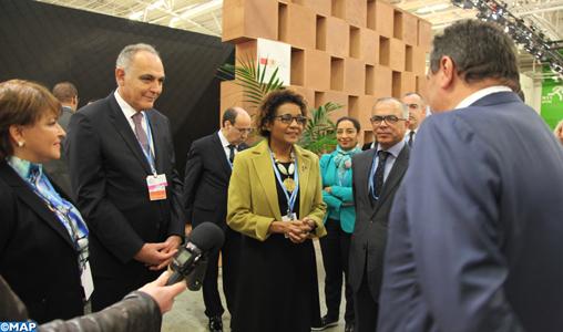 """COP 21 : la SG de l'OIF se félicite de l'engagement du Maroc en faveur d'un accord """"conséquent, ambitieux et contraignant"""" à Paris"""