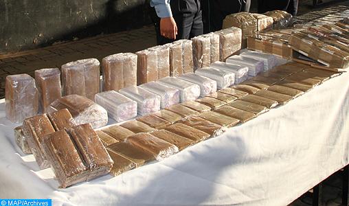 Saisie de 20 kg de chira au point de passage de Bab Sebta (douane)