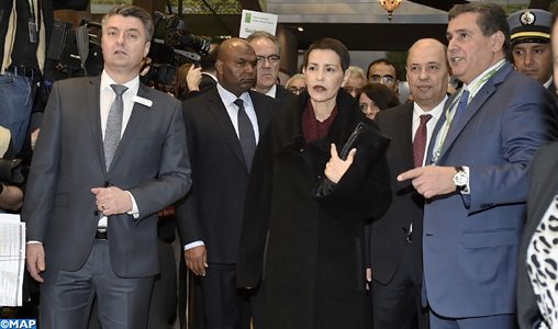 SAR la Princesse Lalla Meryem inaugure le pavillon marocain à la Semaine verte internationale de Berlin