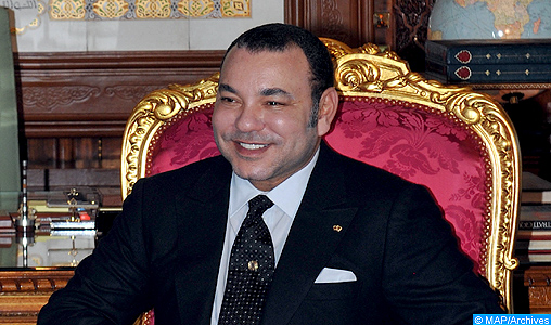 SM le Roi félicite le Souverain hachémite à l'occasion de Son anniversaire