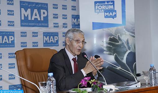 """M. Lahcen Daoudi invité du forum de la MAP sur le thème """"Défis de l'excellence dans la recherche scientifique marocaine"""""""