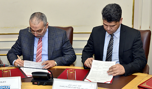 Signature d 39 un protocole de coop ration entre la ccis de for Chambre de commerce tetouan