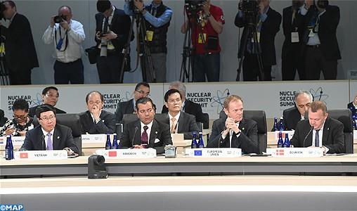 SAR le Prince Moulay Rachid prend part à Washington à la Conférence plénière du Sommet sur la sécurité nucléaire