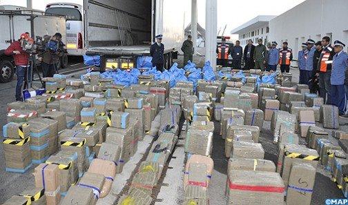 Saisie de plus de 6 tonnes de chira à la province de Tata
