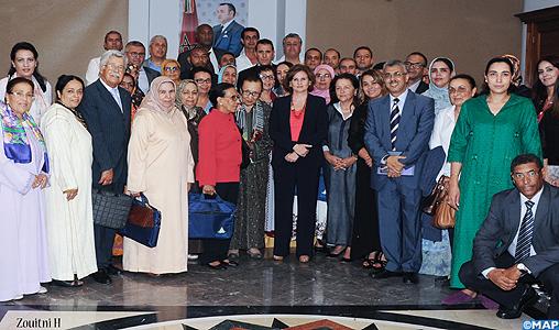 SA la Princesse Lalla Zineb préside à Rabat les réunions de l'assemblée générale