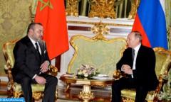 SM le Roi félicite M. Vladimir Poutine à l'occasion de sa réélection président de la Fédération de Russie