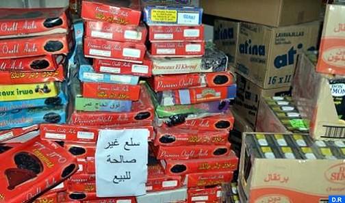Fès Meknès : saisie et destruction de plus de 12 tonnes de produits alimentaires impropres à la consommation durant les vingt premiers jours du ramadan