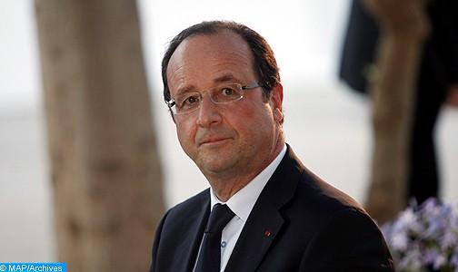 François Hollande présente officiellement la candidature de la France à l'exposition universelle de 2025
