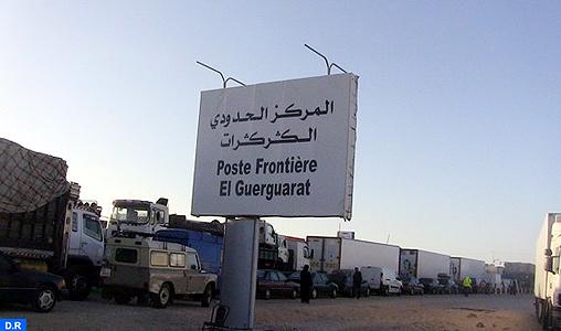 Opérations d'assainissement à Gargarate pour mettre fin aux activités de contrebande et de commerce illicite