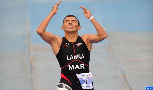 Jeux Paralympiques (Triathlon): Mohamed Lahna remporte le bronze