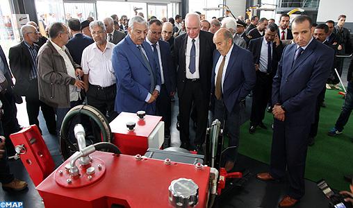 """Le groupe français """"PELLENC"""" inaugure à Meknès d'une société spécialisée dans la fabrication des outils et machines agricoles"""