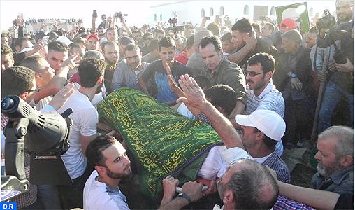 Funérailles de Mouhcine Fikri aux environs de la ville d'Imzouren