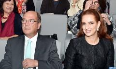 """SAR la Princesse Lalla Salma assiste à Cascais à une conférence sur """"les défis du cancer au 21è siècle"""""""