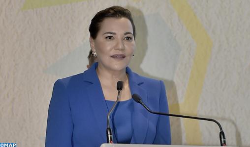 La princesse Lalla Hasna du Maroc au cœur de la COP22