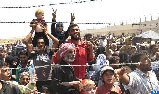 Irak: Plus de 68.000 personnes déplacées depuis le début de l'offensive sur Mossoul