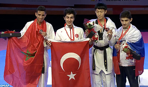 Championnats du monde juniors de taekwondo Burnaby 2016: le Marocain Omar Lakhal remporte l'argent (-59kg)