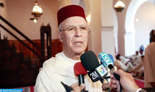 """Fès: La """"Mosquée SAR la Princesse Lalla Salma"""", un nouvel édifice religieux construit selon les normes architecturales marocaines authentiques (M. Toufiq)"""
