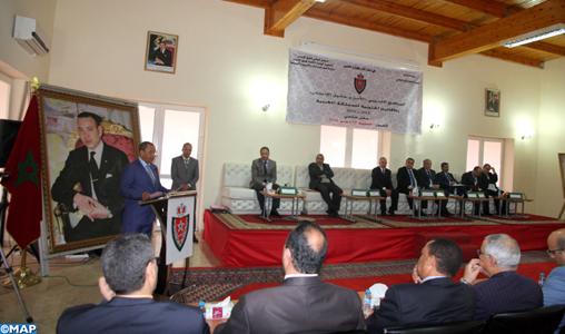 """Laâyoune: Clôture de la formation """"sécurité et droits de l'homme"""" au profit des agents de la sûreté nationale dans les provinces du sud"""