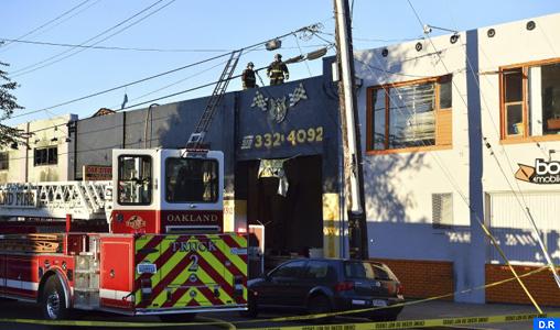Californie: Neuf morts et 25 disparus dans un incendie à Oakland (CNN)
