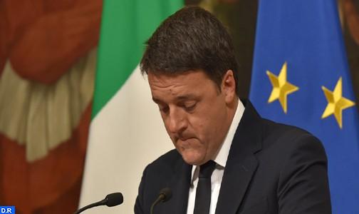 Italie: Renzi annonce sa démission après le rejet par référendum de son projet de réforme constitutionnelle