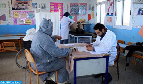 Plus de 100 bénéficiaires d'une caravane médico-chirurgicale à l'hôpital provincial de Rhamna