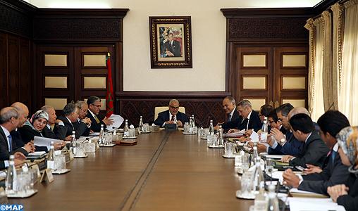 Le Conseil du gouvernement approuve un projet de décret relatif aux attributions et à l'organisation du ministère de l'Industrie et du Commerce