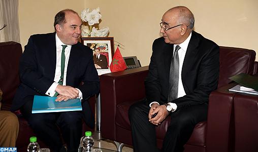 M. Drais s'entretient à Rabat avec le ministre d'Etat britannique pour la Sécurité auprès du Home Office