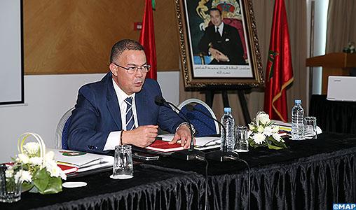 Fouzi Lekjaa: le succès du football marocain tributaire de la contribution de tous les intervenants