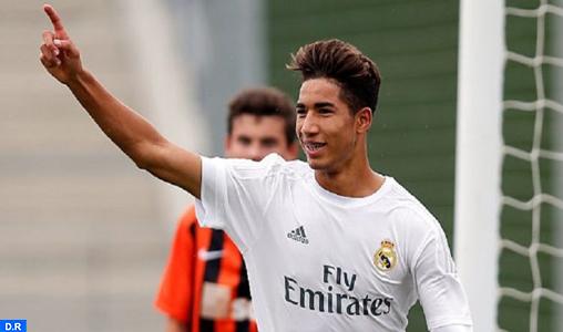 Le Marocain Achraf Hakimi, sur les tablettes de Zidane pour pallier l'absence de Marcelo