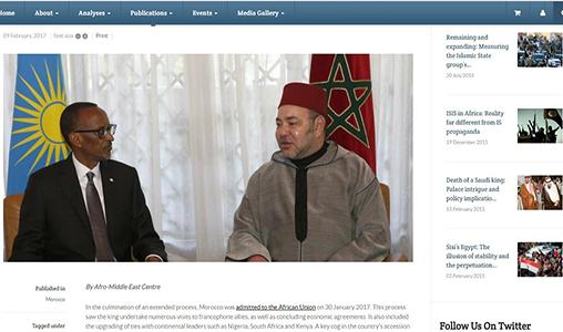 Think-tank sud-africain: Le retour du Maroc au sein de l'UA, couronnement de la politique d'ouverture du Royaume sur l'Afrique