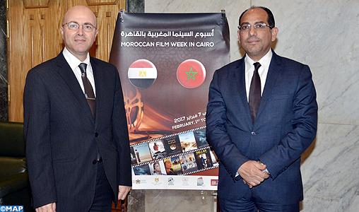 Ouverture de la semaine du cin ma marocain en egypte map for Film marocain chambra 13