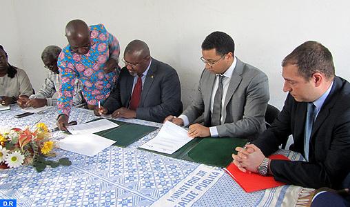 Convention de coopération entre le Groupe marocain AMH et le ministère de la Santé publique de Guinée Bissau